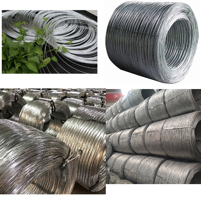 hot dipped galvanized wire rope
