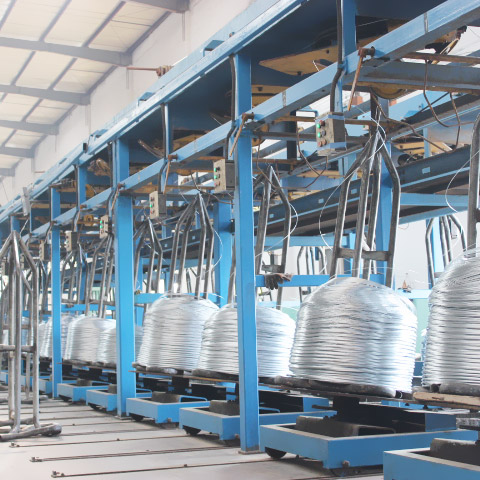 High Tension Hot Dip Galvanized Steel Wire