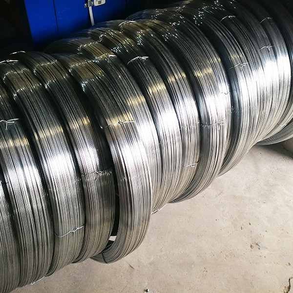 High Tensile Strength Galvanized Oval Wire