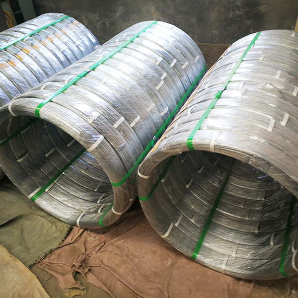 High Tensile Strength Hot Dip Galvanized Oval Wire