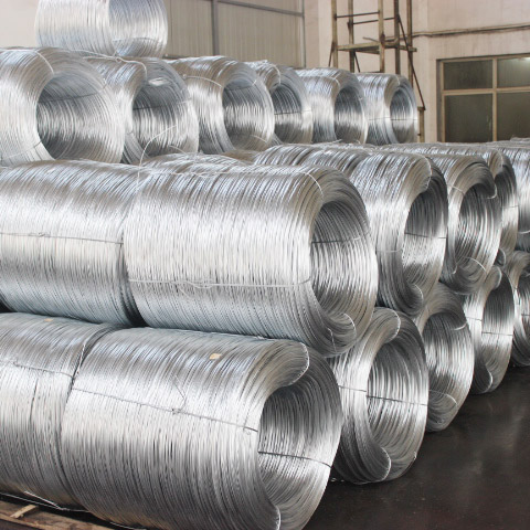 Galvanized Steel Wire For Making Mesh